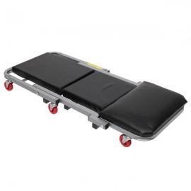 "40"" 2 in 1 Foldable Creeper Seat Black"