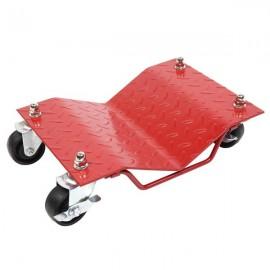 "4pcs 3"" Car Wheels Dolly Red"